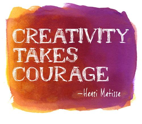 Encouragement to Create