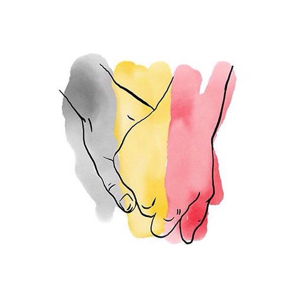A Prayer for Brussels. A Prayer for All of Us.